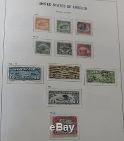 Collection Des États-unis 1850-1989, En Album Davo, Tous Utilisés F / Vf À Vf Chat 5k $