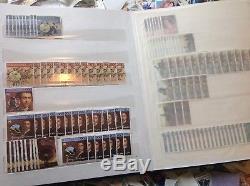 Collection Domaine De Timbres D'australie 1kg + Y Compris L'album. Beaucoup De Frontières
