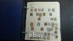 Collection Espagne Timbre Dans L'album Scott Int'l Avec Est. Beaucoup 1.350 Stamps'92