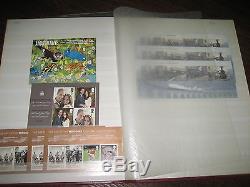 Collection Feuilles Miniatures En Album Jusqu'en 2012 Fv 305 € Timbres