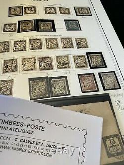 Collection France Timbres Catalogues Album Gros Dt Pa Après, Taxes, Métier Fr