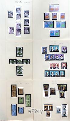 Collection GB Qeii Dans L'album 1971-1982 Complete U / Mint Et Utilisé Chez Face High CV
