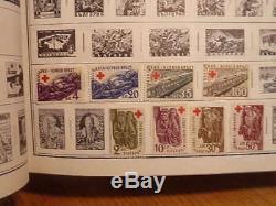 Collection Mondiale Chargée Dans H. E. Harris Album Standard 6200+ Timbres Voir 35 Pix