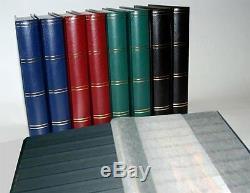 Collection Prophila Album De Timbres, Bloc-notes, Phare De Prophila 60, Couverture Noir Rouge