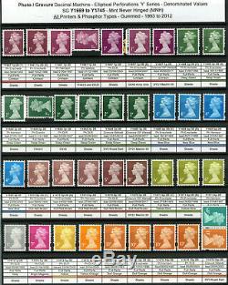 Collection Spécialisés Machin Toutes Les Questions 1971-2019 970+ Mnh 2 Timbres Albums