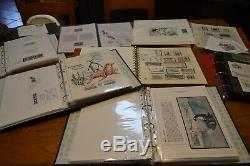 Collection Taaf En Album 8 Volumes Coffre-fort + Classeur Fdc Gravure Cote 4000