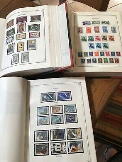 Collection Très Roumanie 3 Albums Yvert Complet 1858/1993 Pa 6500 Cote Blocs