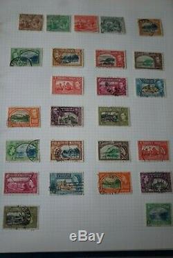 Colonne D'album British Commonwealth / Empire Neuve Et Used Collection Qv 1980