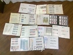 Commem Stamp Collection 13 Albums Fv 1979-2015 £ 4000 U / M + £ Used Fine De 100