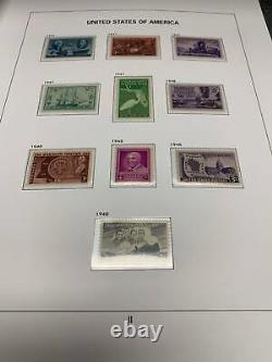Complete 1945-2019 U. Stamp Collection En 10 Nouveaux Albums Davo Luxe Amazing Set