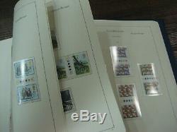 Complete Déplié Gutter Paire Traffic Light Collection 1972-1980 Mnh Album