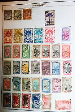 Dans Le Monde Entier De Haute Valeur Stuffed Citation Des Années 1800 À 1970 Album Collection Stamp