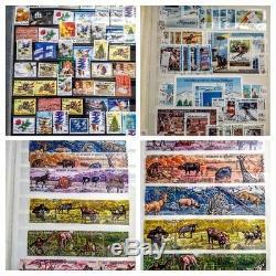 Dans Le Monde Entier Et Mnh Collection De Timbres D'occasion Dans 1 Album De Nombreux Pays Différents -tous