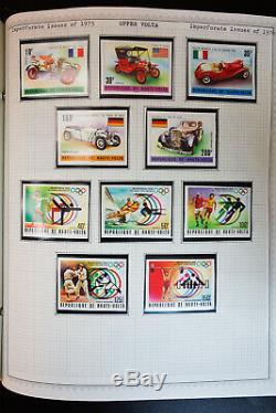 Dans Le Monde Entier Loaded 9 Années 1800 Album 2001 Stamp Collection