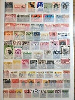 Des Milliers De Collection De Timbres Du Monde Album De Timbre