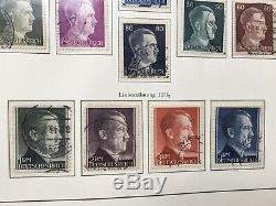 Deutsches Reich 1933 1945, Album Leuchtturm Collection With Oblitérée 1300 Cote