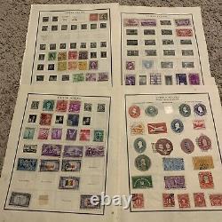 Early Us Stamp Lot Sur Les Pages D'albums. Surtout Des Années 1800 Au Début Des Années 1940. Grand Cadeau