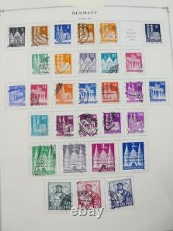 Edw1949sell Allemagne Collection Mint & Used Très Propre Sur Les Pgs De L'album. Chat 9000 $ +