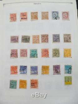 Edw1949sell Brazil Collection Très Propre De Menthe Et D'occasion Sur Les Pages D'album. Chat 1683 $