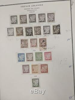 Edw1949sell Colonies Françaises De Nice Mint & Collection D'occasion Sur L'album Cat 2437 $ Pgs