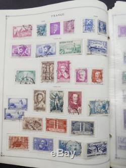 Edw1949sell France Collection Très Propre Mint & Used Sur Les Pages D'album. Chat 4618 $