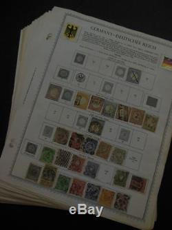 Edw1949sell Germany Grande Collection, Toutes Différentes Sur Les Pages De L'album