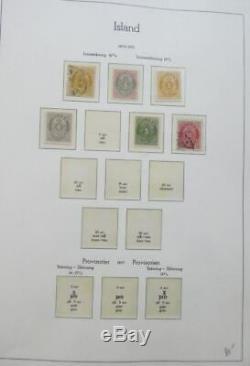 Edw1949sell Islande Vaste Collection Mint Et D'occasion Dans L'album. Scott Cat 6504 $