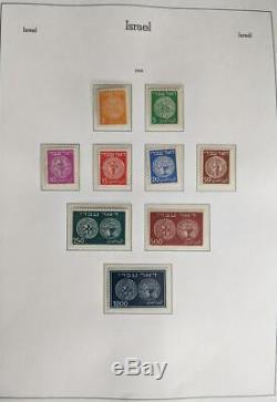 Edw1949sell Israel Belle Collection Dans L'album Phare Cplt 1948-70