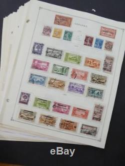 Edw1949sell Liban Collection Très Propre De Menthe Et D'occasion Sur Les Pages D'album Cat 1452
