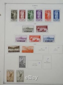 Edw1949sell Libya Collection Mint & Used Très Propre Sur Les Pages D'album. Chat 560 $