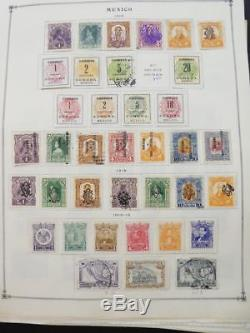 Edw1949sell Mexico Collection Mint & Used Très Propre Sur Les Pages D'album. Chat 1260 $
