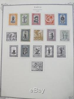 Edw1949sell Papua Très Belle Collection Mint & Used Sur Les Pages De L'album. Chat 876,00 $