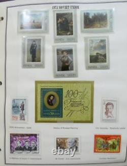 Edw1949sell Russia Belle Collection En 2 Albums Cplt De 1967-91 Incl S/s