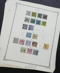 Edw1949sell States Allemand, Collection Old Time Mint & Used Sur Pages D'album