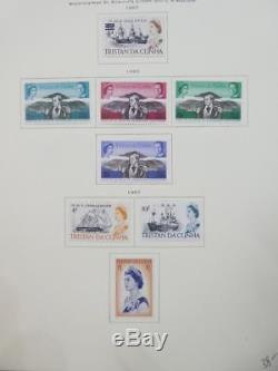 Edw1949sell Tristan Belle Collection Vf Mint Og Sur Pages D'album Sc Cat $ 483