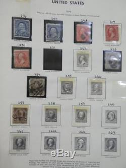 Edw1949sell USA Monnaie De Nice Et D'occasion Collection De Démarrage Sur Les Pages De L'album