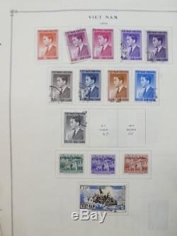 Edw1949sell Vietnam Collection Mint & Used Très Propre Sur Les Pages De L'album Chat 650 $ +