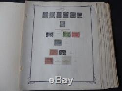 Egypte 1867-1960 Collection Stamp Sur Scott Specialty Album Pages
