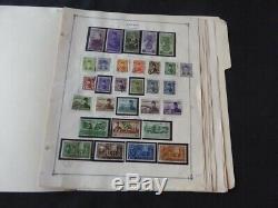 Egypte 1944-1958 Monnaie / Occasion Collection De Timbres Sur L'album Scott Intl Pages