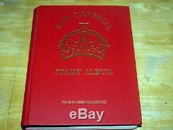 Empire Britannique 1840-1936 Stamp Collection Imperial Album Version M-z CV Stc £ 38000