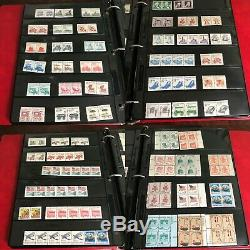 Énorme (1300+) Us Stamp Collection, Mint Condition Excellente Dans L'album