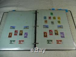 Énorme Suriname Stamp Album Collection Mint Et D'occasion 509 Timbres 160-39e