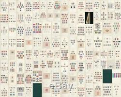 Espagne 1850/1984 3 Albums De Phares Collection M & U (appx 3500+) Alb422