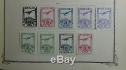 Espagne Et Col.. Collection De Timbres Dans L'album Scott Specialty Avec 1200 Ou Si Stamps'54