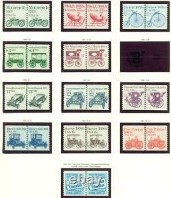 États-unis Collection, 4 Albums Phare 1900-1970 Nh, Scott 7,570.00 $