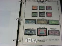 États-unis, Menthe-c13 C15, Montâmes Superbe Collection De Timbre Dans Un Album Blanc 5 Volume Ace