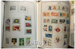 Fantastique Dans Le Monde Entier Collection. 33 Minkus Album. 115000+ Timbres! Bonne Condition