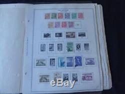 Finlande 1954-1985 Collection De Timbre Sur Scott Specialty Album Pages