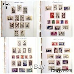 France 1945-1969 Collection En Album / Phares Stamp 98 Pages De Timbres