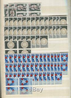 France Accumulation CV Mnh 18400,00 1960-1999 Gros $ En 4 Albums